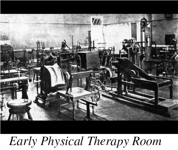 Early Physical Therapy Room